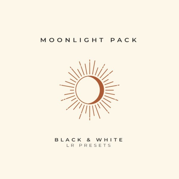 Moonlight Black and White Lightroom Preset Pack by The Archivers